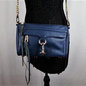 Rebecca Minkoff Royal Blue Mini Crossbody Bag